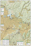Durango and Cortez, Colorado (144) by National Geographic Maps - Back of map