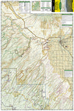 Uncompahgre Plateau, North, Map 147 by National Geographic Maps - Front of map