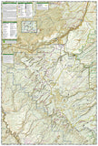Uncompahgre Plateau, North, Map 147 by National Geographic Maps - Back of map
