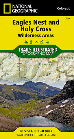 Buy map Holy Cross and Eagles Nest Wilderness, Map 149 by National Geographic Maps