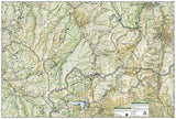 Holy Cross and Eagles Nest Wilderness, Map 149 by National Geographic Maps - Back of map