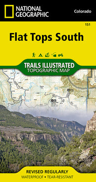 Buy map Flat Tops South by National Geographic Maps