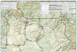 Yellowstone National Park by National Geographic Maps - Back of map