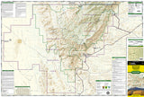 Guadalupe Mountains National Park, Map 203 by National Geographic Maps - Front of map