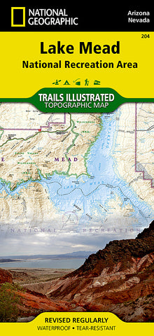Buy map Lake Mead National Recreation Area by National Geographic Maps