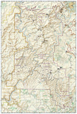 Canyonlands National Park, Utah, Map 210 by National Geographic Maps - Back of map