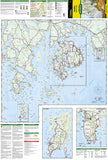 Acadia National Park, Maine, Map 212 by National Geographic Maps - Front of map