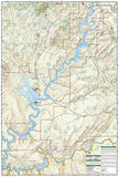 Glen Canyon National Recreation Area, Map 213 by National Geographic Maps - Back of map