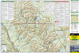 Glacier and Waterton Lakes National Parks, Map 215 by National Geographic Maps - Front of map