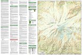 Mount Rainier National Park, Map 217 by National Geographic Maps - Back of map