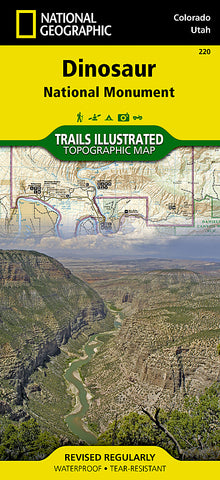 Buy map Dinosaur National Monument by National Geographic Maps