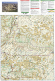 Dinosaur National Monument by National Geographic Maps - Back of map