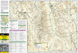 Death Valley National Park, Map 221 by National Geographic Maps - Front of map