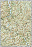 North Cascades National Park, Map 223 by National Geographic Maps - Back of map