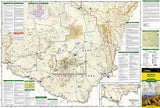 Big Bend National Park, Texas, Map 225 by National Geographic Maps - Front of map