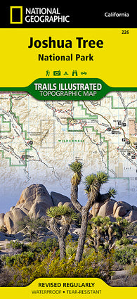 Buy map Joshua Tree National Park, Map 226 by National Geographic Maps