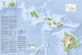 Haleakala National Park, Map 227 by National Geographic Maps - Back of map