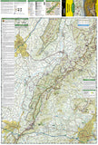 Shenandoah National Park, Map 228 by National Geographic Maps - Front of map