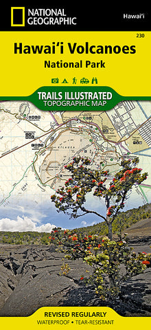 Buy map Hawaii Volcanoes National Park. Map 230 by National Geographic Maps