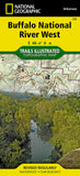 Buy map Buffalo National River, West, Arkansas, Map 232 by National Geographic Maps
