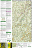 Buffalo National River, West, Arkansas, Map 232 by National Geographic Maps - Front of map