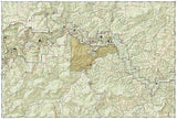 Buffalo National River, West, Arkansas, Map 232 by National Geographic Maps - Back of map