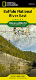 Buy map Buffalo National River, East, Arkansas, Map 233 by National Geographic Maps
