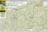 Buffalo National River, East, Arkansas, Map 233 by National Geographic Maps - Front of map