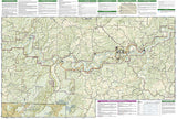 Buffalo National River, East, Arkansas, Map 233 by National Geographic Maps - Back of map