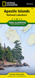 Buy map Apostle Islands National Lakeshore, Map 235 by National Geographic Maps