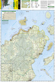 Apostle Islands National Lakeshore, Map 235 by National Geographic Maps - Front of map