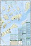 Apostle Islands National Lakeshore, Map 235 by National Geographic Maps - Back of map