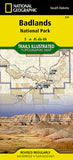 Buy map Badlands National Park, South Dakota, Map 239 by National Geographic Maps