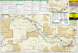 Badlands National Park, South Dakota, Map 239 by National Geographic Maps - Front of map