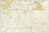 Badlands National Park, South Dakota, Map 239 by National Geographic Maps - Back of map