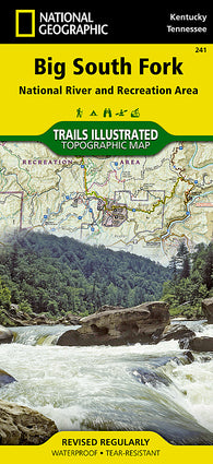 Buy map Big South Fork Natl River and Rec Area, KY/TN, Map 241 by National Geographic Maps