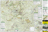 Big South Fork Natl River and Rec Area, KY/TN, Map 241 by National Geographic Maps - Front of map