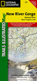 Buy map New River Gorge National River by National Geographic Maps