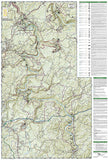 New River Gorge National River by National Geographic Maps - Back of map