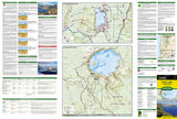 Crater Lake National Park, Map 244 by National Geographic Maps - Front of map