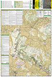 Black Canyon of the Gunnison National Park, Colorado, Map 245 by National Geographic Maps - Front of map