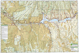 Black Canyon of the Gunnison National Park, Colorado, Map 245 by National Geographic Maps - Back of map