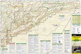 Carlsbad Caverns National Park, New Mexico, Map 247 by National Geographic Maps - Front of map