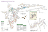 Carlsbad Caverns National Park, New Mexico, Map 247 by National Geographic Maps - Back of map