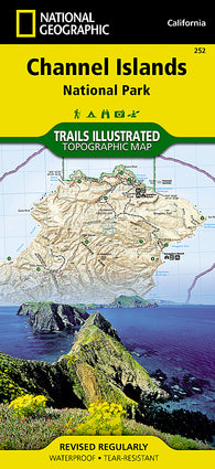 Buy map Channel Islands National Park, Map 252 by National Geographic Maps
