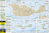 Channel Islands National Park, Map 252 by National Geographic Maps - Front of map