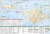 Channel Islands National Park, Map 252 by National Geographic Maps - Back of map