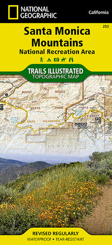 Buy map Santa Monica Mountains by National Geographic Maps