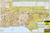 Santa Monica Mountains by National Geographic Maps - Front of map