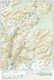 Chilkoot Trail and Klondike Gold Rush, Alaska, Map 254 by National Geographic Maps - Back of map